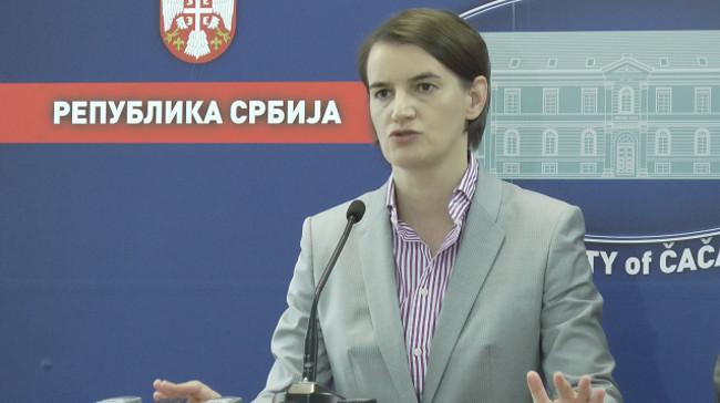 Брнабић: Влада мора да буде у служби свих грађана